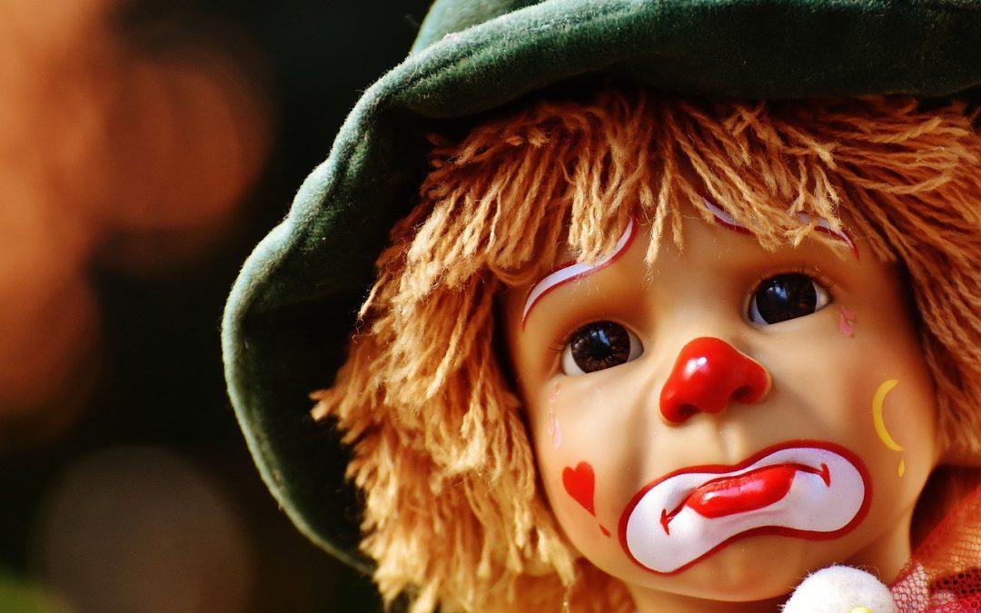 online-olm facebook viralität grussel-clowns und umgang in den sozialen Medien
