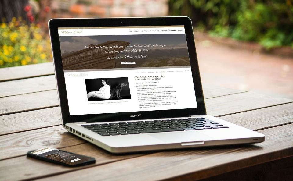 Lilija Olm - Webdesign mit Wordpress - Internetagentur Franken - Forchheim - Erlangen - Referenzen - Melanie Ebert Business & Mental Coaching