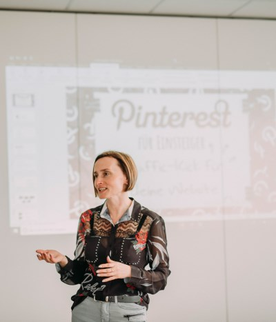 Online-Olm - Webdesign  & Online Marketing & Social Media Marketing in Oberfranken - Lilija Olm -Pinterest Workshop