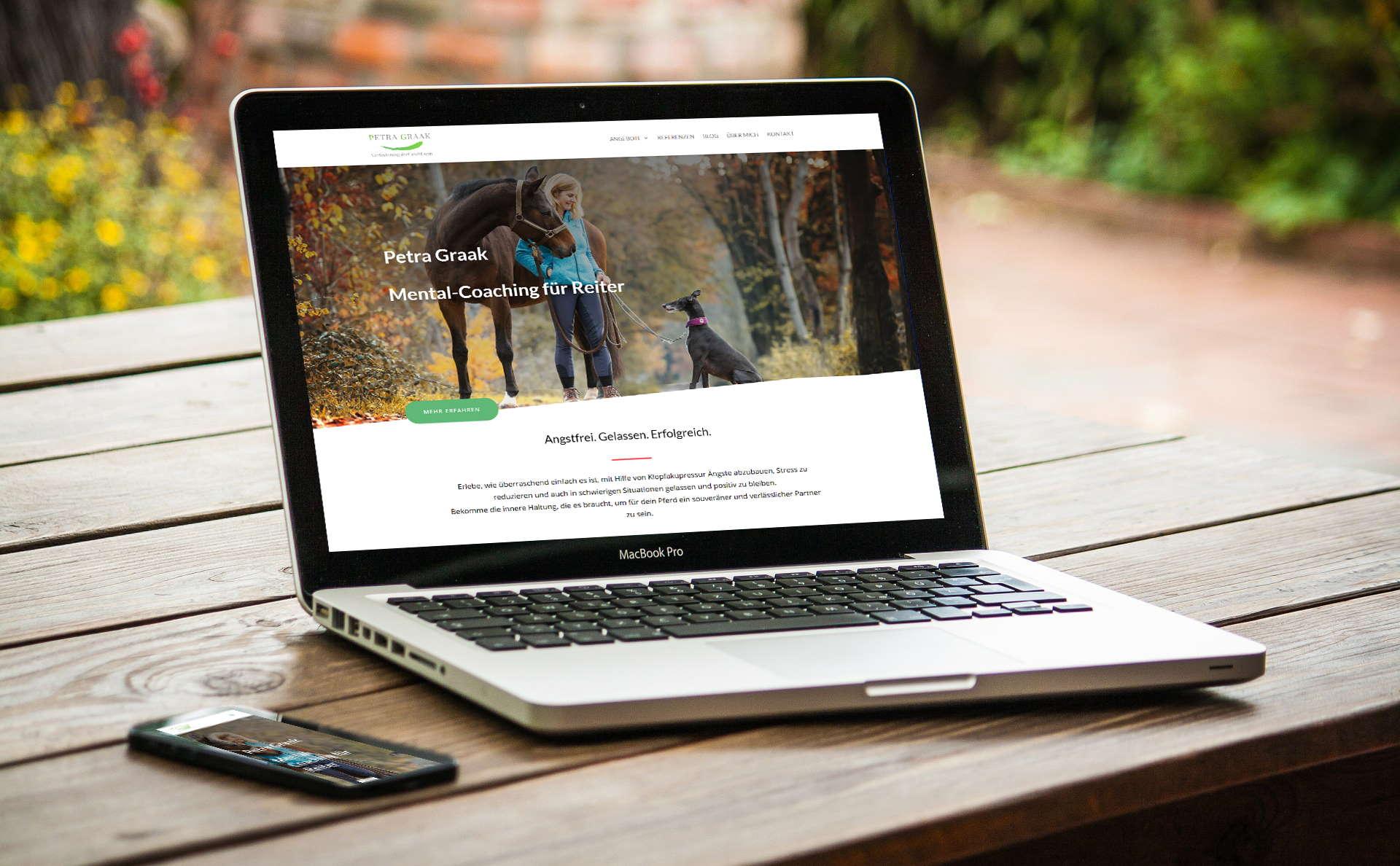 modernes Webdesign - responsive Webdesign mit WordPress - moderne Website für Institut Zukunftsmusik