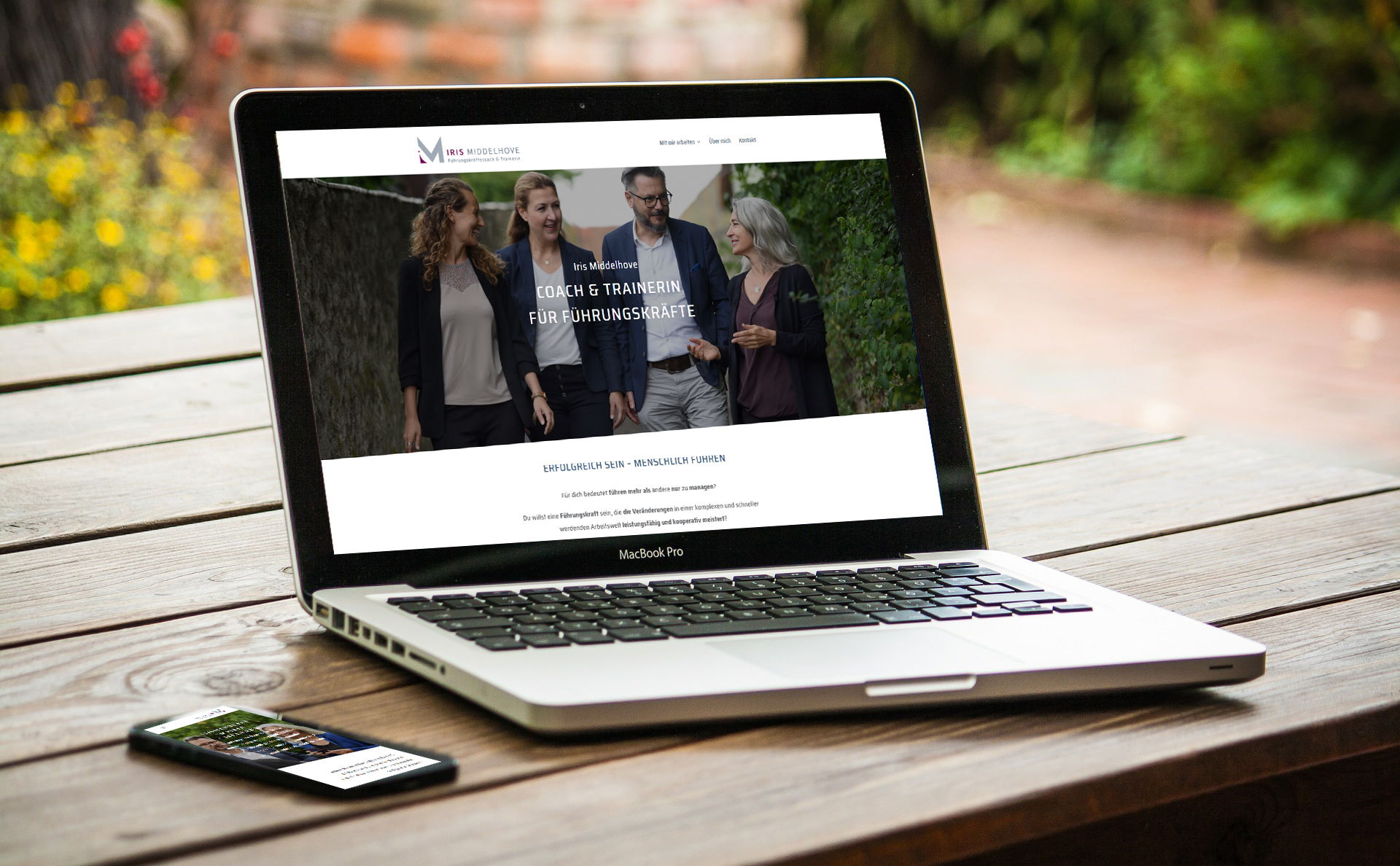 Referenz für Webdesign | Business Working Mom Coaching