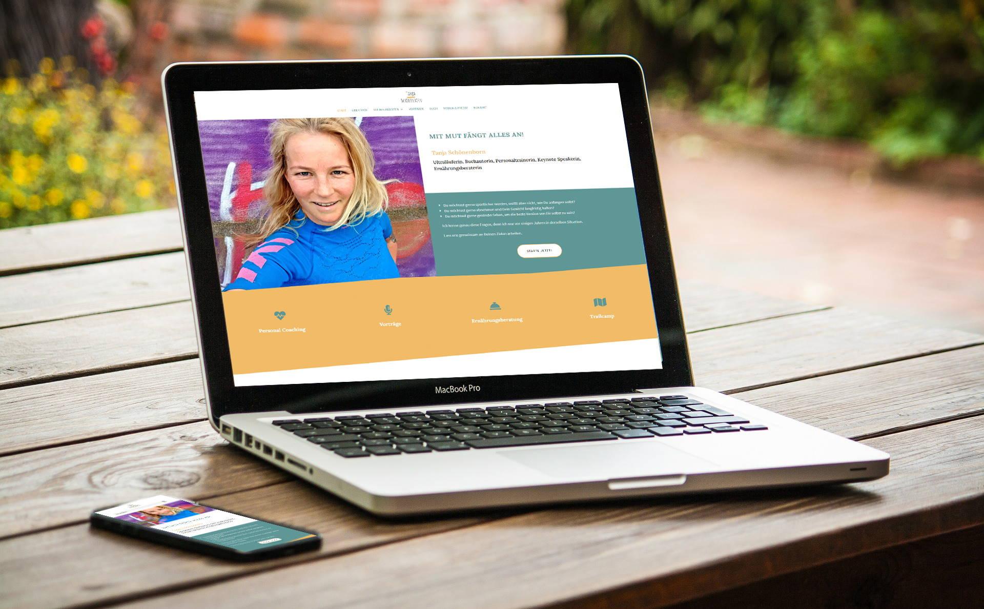 Webdesign Referenz Tanja Schönenborn